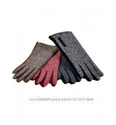Перчатки шерсть-стрейч