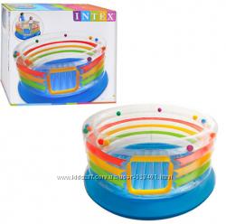 Надувной детский игровой центр - батут Intex 48264
