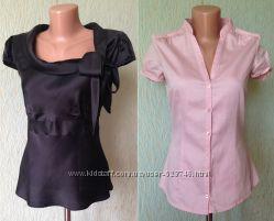 Брендовые блузки, рубашки из Европы - 42 р-р - лето