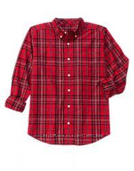 Мужская рубашка в клеточку Gymboree, Америка XL, XXL.