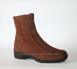 Зимние ботинки Semler Германия натуральная нубук мех на мороз 37-37, 5 р