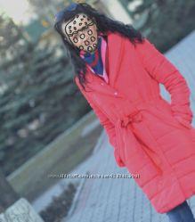 Красное пальто размер С-М