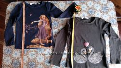 Блузочки с длинным рукавом на возраст 2-4года.