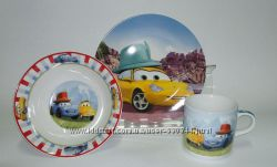 Наборы керамической посуда для детей с рисунками