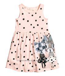 Летние платья для девочек H&M