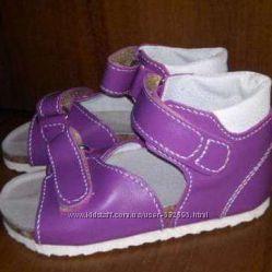 Ортопедическая обувь детская, модель т62, сиреневые