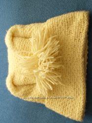 Шапка конвертик, идеальна для тех кому не идут шапки, делает макушку и за