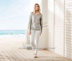Белоснежные женские джинсы р.  М-ка 42евро  48наш TCM Tchibo