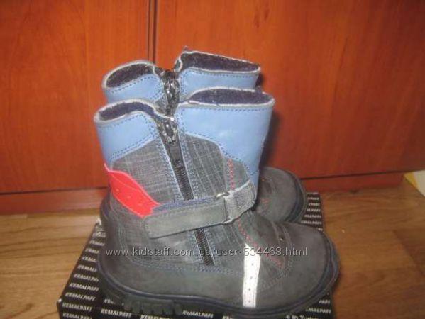 Теплющие змние ботинки Kemal Pafi ортопедик р. 24 пр-во Турция