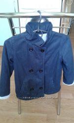 Стильное пальто пиджак на маленького модника