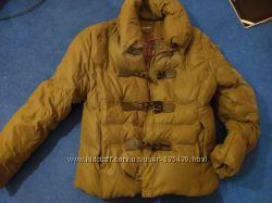 Фирменный тёплый пуховик, куртка, размер M-L, отличное состояние.