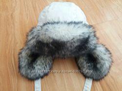 Зимняя шапка-ушанка детская-подростковая