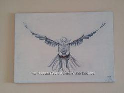 Картина Голуб в польоті