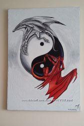 Картина Інь та Янь