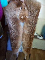 Накидка жилет из лисицы