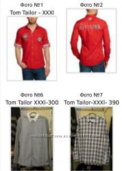 Фирменные мужские рубашки XXL, XXXL Tom Tailor Германия