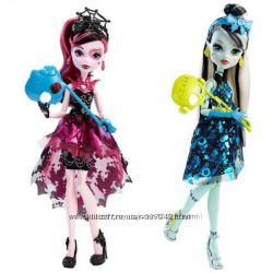 Куклы Welcome to Monster High Draculaura, Franki