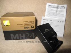 Зарядное MH-24 для EN-EL14 для Nikon D3100, Nikon D5100