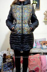 куртка-пальто на холлофайбере 38 размер