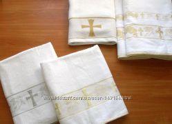 Крестильное полотенце после крещения Размер 140х70