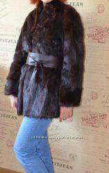 Норковая шуба натуральный мех размер 46-48 на рост от 170 до 180