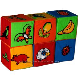 Кубики мягкие ТМ  Розумна іграшка