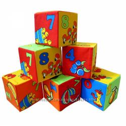 Кубики ТМ Розумна іграшка Математика