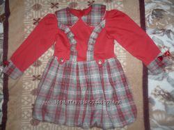Нарядное платье 4-6 лет