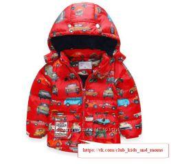 Теплая курткажилетка 2в1 Motherbear