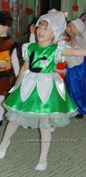 Платье Подснежник, пролесок підсніжник, пролісок, першоцвіт прокат