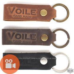 Брелки для ключей из натуральной кожи. Макей, VOILE и др.