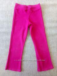 спортивные штаны на девочку на 4, 5-6 лет, разные 3 пары