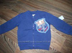 кофта толстовка на флисе для мальчика Gloria Jeans 2-4года