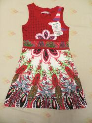 Летнее платье Desigual, 78 лет 128см