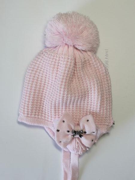 Утеплені зимові шапки Barbaras для дівчаток
