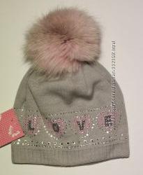 Тепленькі зимові шапочки Barbaras для дівчаток