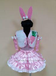 Прокат продажа костюм зайчика, зайченка для девочки, р. 104-116