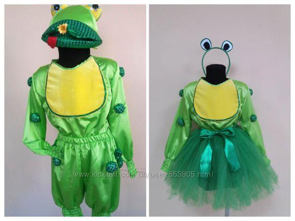Прокат продажа костюм лягушонок, лягушка, р. 110-116