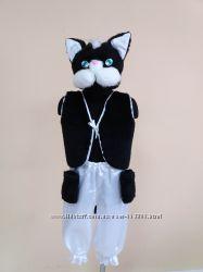 Прокат карнавального костюма Котик кошечка на 3-7 лет