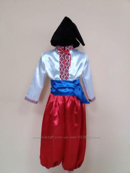 продажа украинский костюм, Козак для мальчика, р. 104