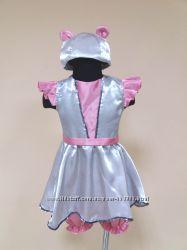 Прокат карнавальный костюм Мышка, мышки для девочки 2-5лет, до 110см