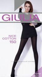 Теплые хлопковые женские колготки c кашемиром Nice Cotton 150