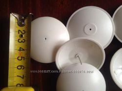 Антикражная клипса Антикражный датчик Ракушка белая диаметр 54 мм