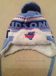 Теплая зимняя шапка Арктик для мальчика