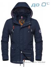 Куртка Парка мужская демисезонная Braggart Размеры 48- 56