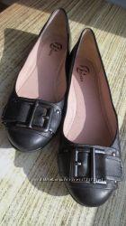 Балетки BATA на узкую ногу 38р-24, 5см Идеальные