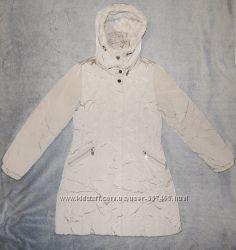 Куртка пуховик Easy Comfort бежевого цвета. Размер usa - 8, uk - 10.