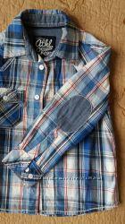 Фирменная рубашка C&A на мальчика 98 - 104 см.