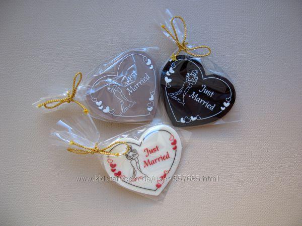 Шоколадні бонбонєрки англійською мовою