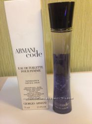 Ароматы GIORGIO ARMANI. Оригинал. ACQUA DI GIO, CODE, MANIA, SI, DIAMONDS